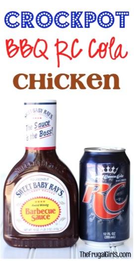 Crockpot BBQ RC Cola Chicken