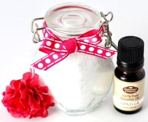 Vanilla Bath Salts Recipe