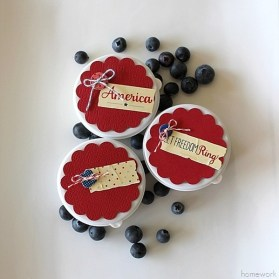 Easy Patriotic Berry Cups
