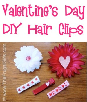 Hair Clips for Valentine's Day
