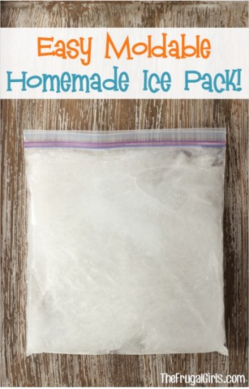 Easy Homemade Ice Pack at TheFrugalGirls.com