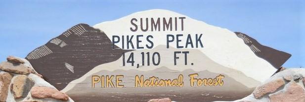 Pikes Peak Summit Colorado Springs