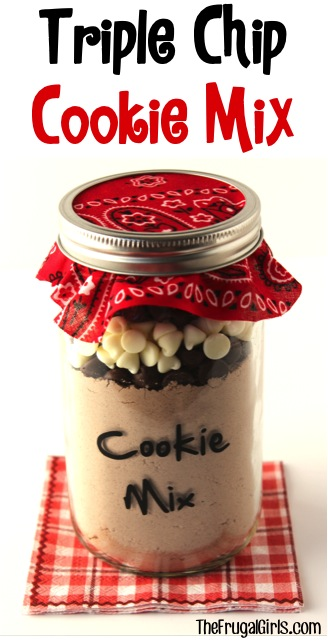Triple Chip Cookie Mix in a Jar