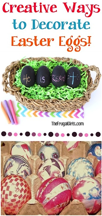 Unique Ways to Decorate your Easter Eggs