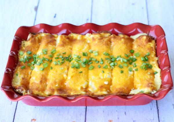 Chicken Enchiladas Recipe with Sour Cream