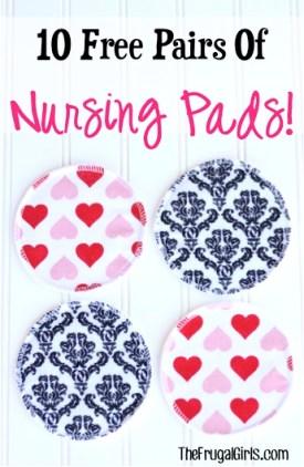 Free Reusable Nursing Pads