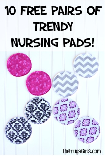 Free Trendy Nursing Pads at TheFrugalGirls.com