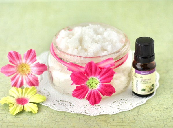 Jasmine Coconut Sugar Scrub Recipe