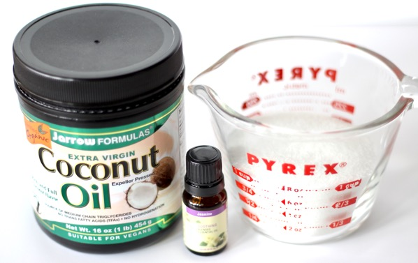 Jasmine Sugar Scrub Recipe