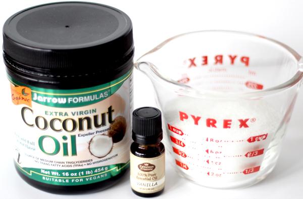 Easy Coconut Oil Sugar Scrub