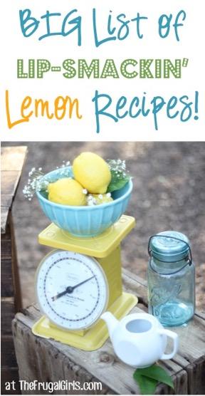 Best Easy Lemon Recipes
