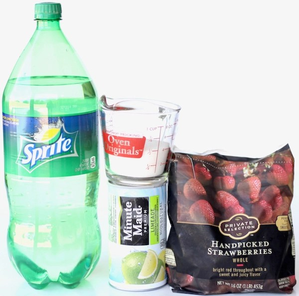 Strawberry Limade Recipe Sprite