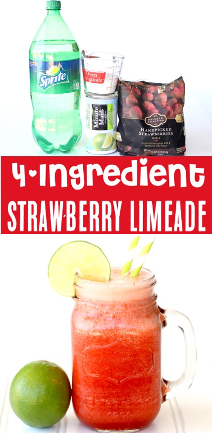 Strawberry Limeade Punch Recipe Easy