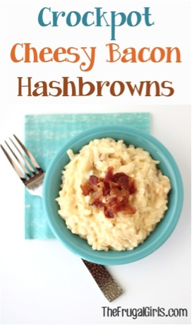 Crockpot Cheesy Bacon Hashbrowns