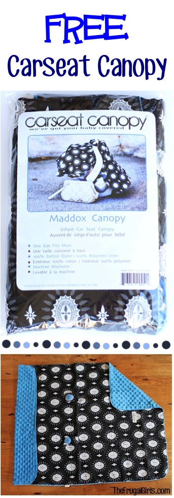 Free Carseat Canopy Gift