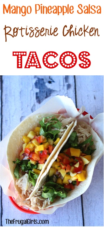 Mango Salsa Tacos Recipe You Need to Try from TheFrugalGirls.com
