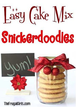 Snickerdoodle Cake Mix Cookie Recipe
