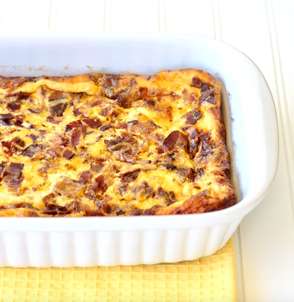 Breakfast Bacon and Egg Casserole