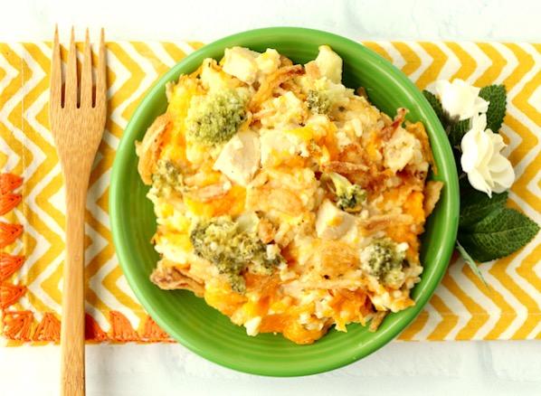 Chicken Broccoli Casserole Recipe Easy