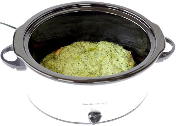Creamy Pesto Chicken Recipe