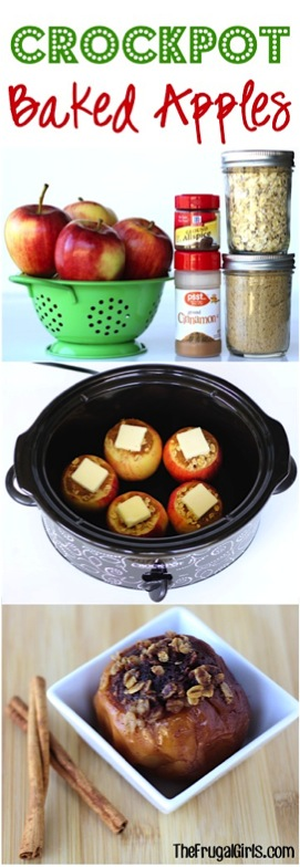Crockpot Baked Apples Recipe