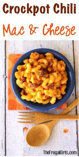 Crockpot Chili Mac and Cheese Recipe