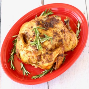 Crockpot Ranch Onion Whole Chicken Recipe