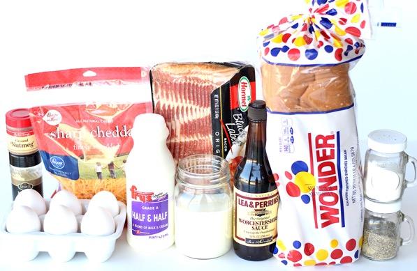 Overnight Breakfast Bacon and Egg Casserole Recipe