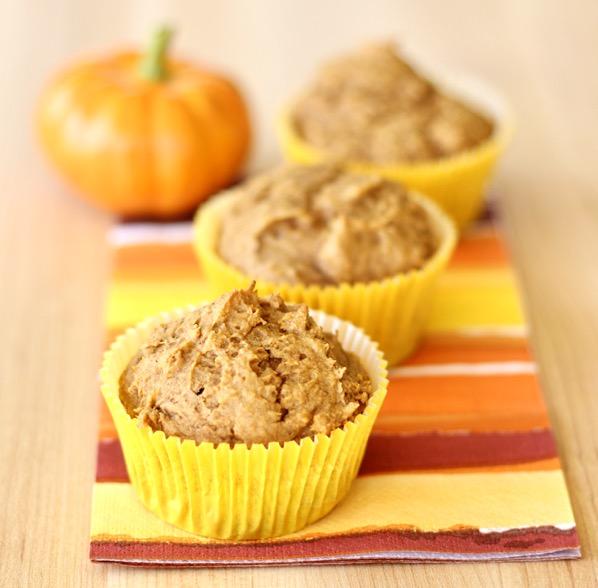 Pumpkin Cake Mix Muffins Recipe