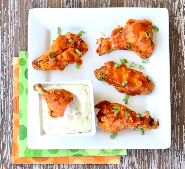 Slow Cooker Buffalo Ranch Wings Recipe