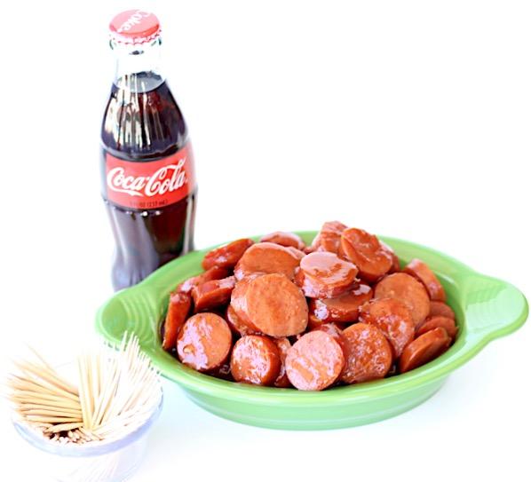 Crockpot BBQ Coca Cola Kielbasa Recipe Easy