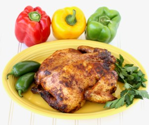 Crockpot Santa Fe Whole Chicken Recipe
