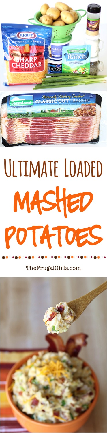 Loaded Smashed Potatoes Recipe