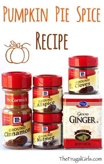 Pumpkin Pie Spice Recipe at TheFrugalGirls.com