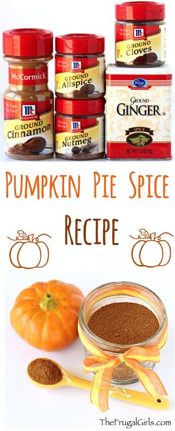 Pumpkin Pie Spice Recipe - from TheFrugalGirls.com