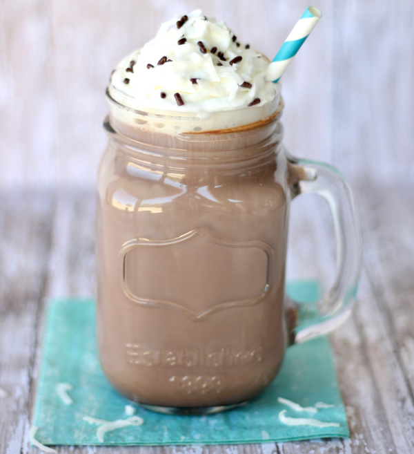 Crockpot Coconut Hot Chocolate Recipe