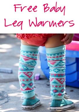 Free Baby Leg Warmers at TheFrugalGirls.com