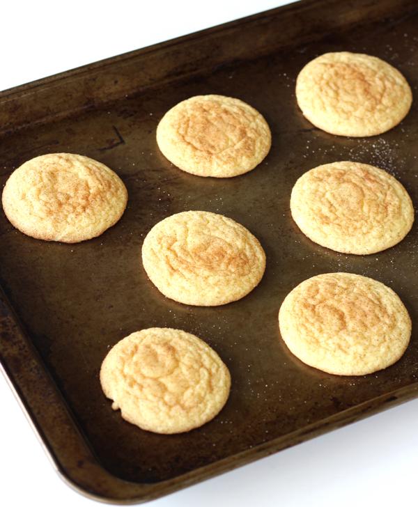 Yellow Cake Mix Snickerdoodle Cookies Recipe