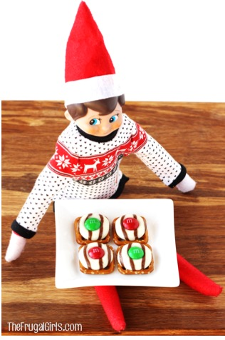 elf-on-the-shelf-eating-cookies-and-more-ideas-at-thefrugalgirls-com
