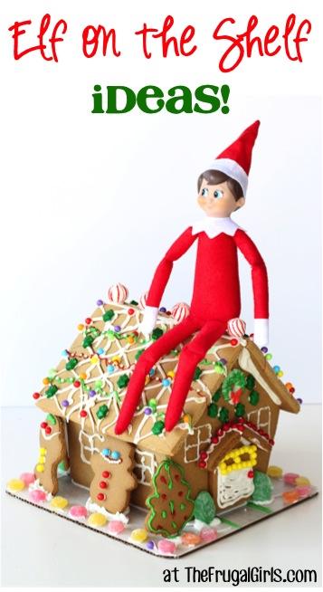 Elf on the Shelf Ideas from TheFrugalGirls.com