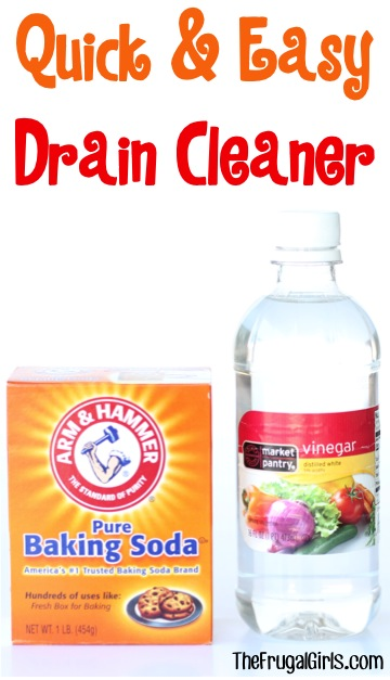 Drain Cleaner Baking Soda Vinegar