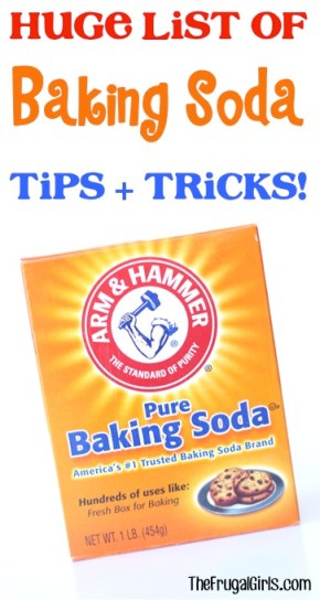Baking Soda Tips and Tricks from TheFrugalGirls.com