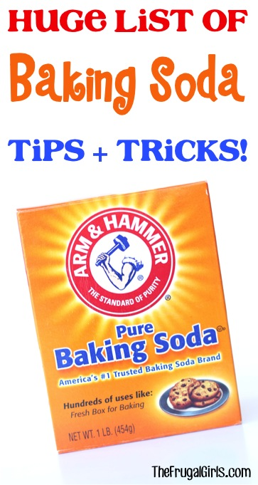 Ways to Use Baking Soda - Tips and Tricks from TheFrugalGirls.com