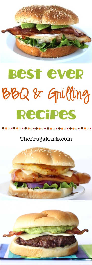 Best BBQ and Grilling Recipes from TheFrugalGirls.com
