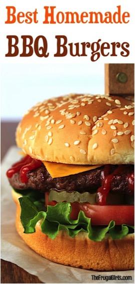 Best Homemade BBQ Burger