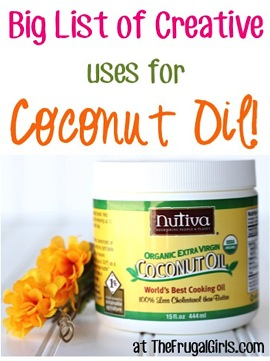 Creative Ways to Use Coconut Oil