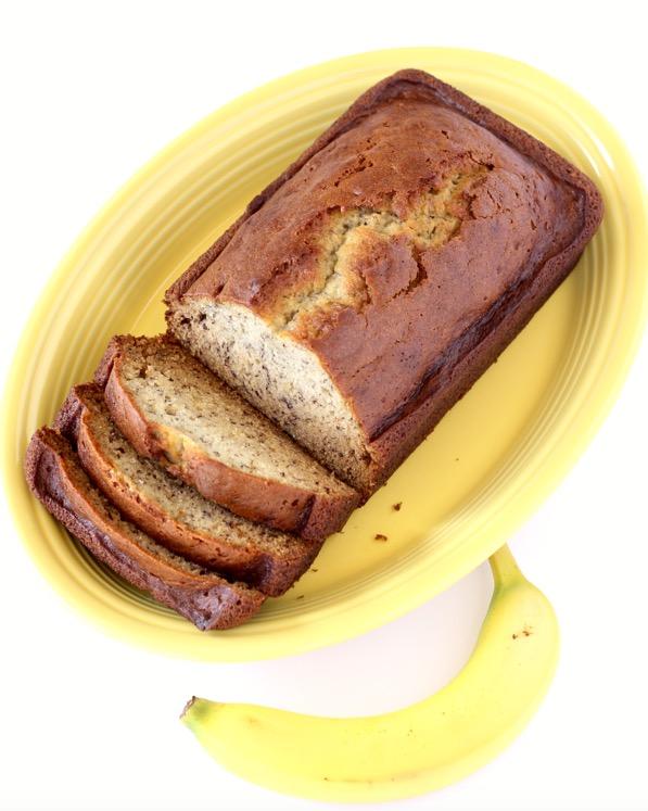 Easy Banana Bread Recipe Homemade