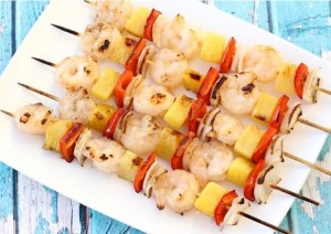 Easy Grilled Shrimp Skewers Recipe at TheFrugalGirls.com