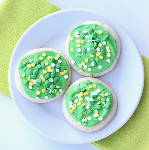St Patrick's Day Sugar Cookies Recipe