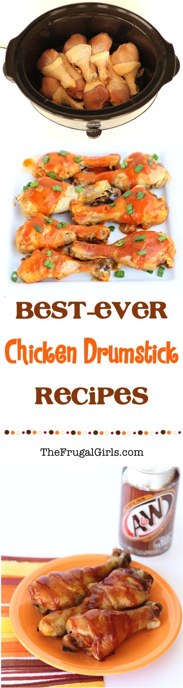 Best Ever Chicken Drumstick Recipes from TheFrugalGirls.com